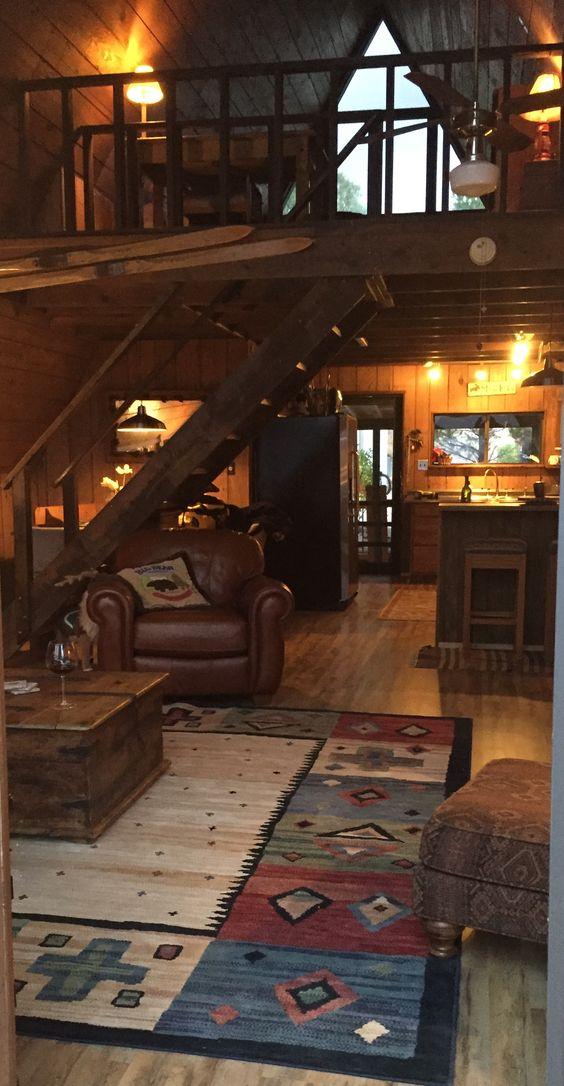 Зимний домик фото изнутри