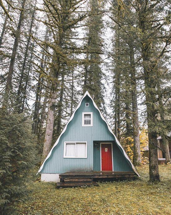 Самый простой дом шалаш