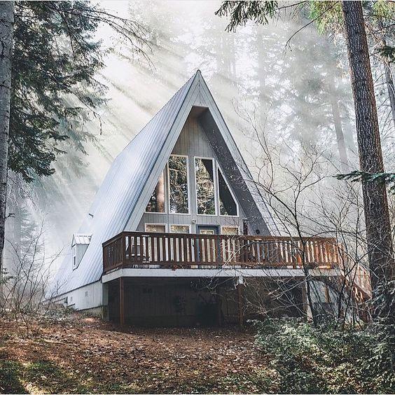Дом шалаш в Швеции