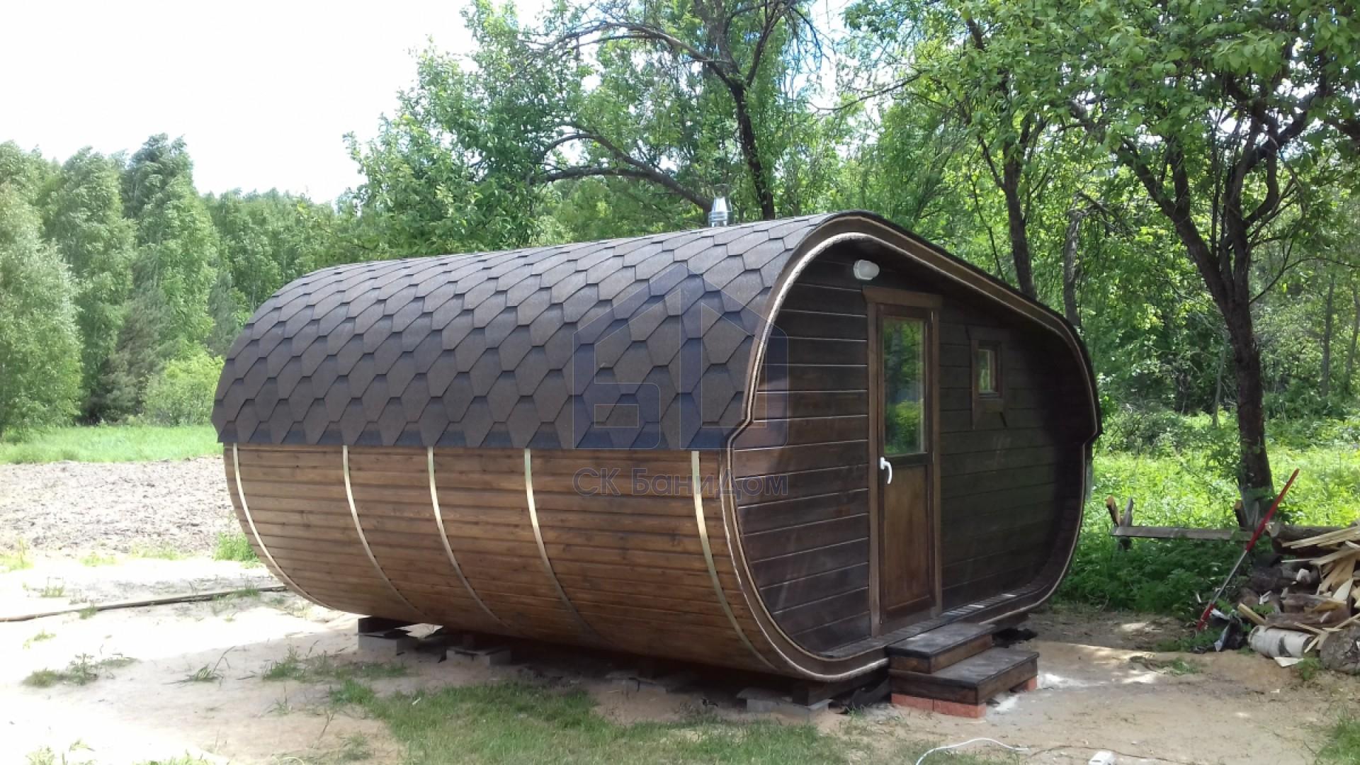 готовая баня из бревна с доставкой и установкой цена